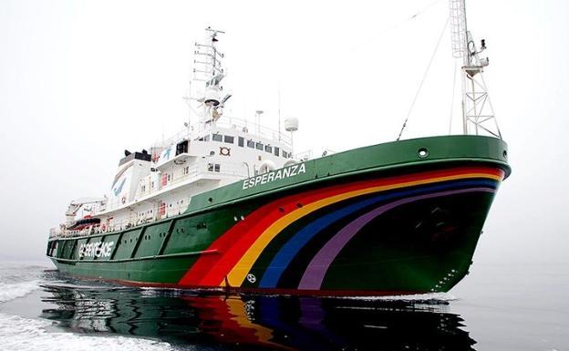 El barco 39 esperanza 39 de greenpeace llega a m laga diario sur for Todo sobre barcos