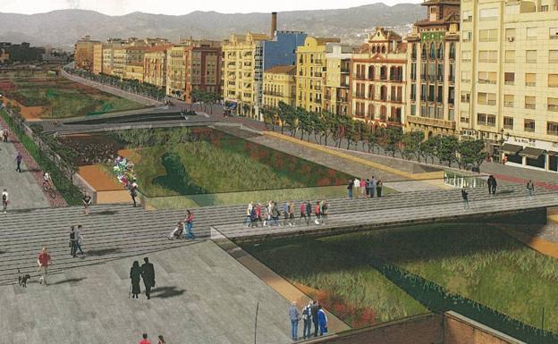Los arquitectos que har n el plan del r o guadalmedina - Arquitectos en malaga ...