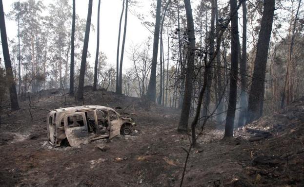 Mueren cuatro personas en galicia donde nueve incendios - Donde alojarse en galicia ...