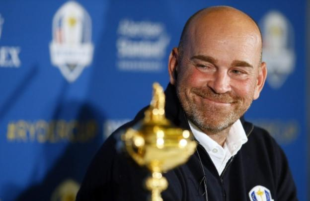 Thomas Bjorn es el capitán del combinado europeo. :: getty images/