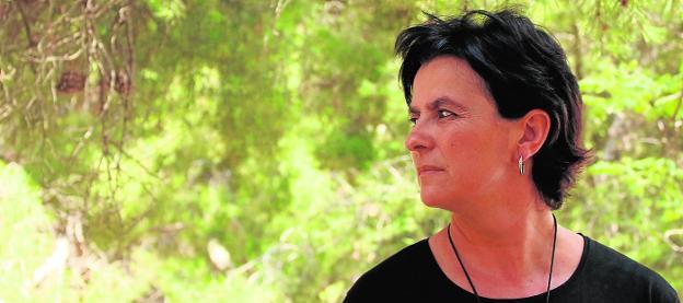 Magdalena S. Blesa acaba de publicar su cuatro libro de poesía. :: david perea/