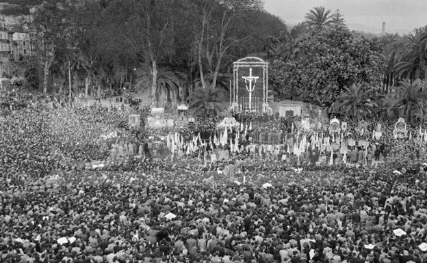 Concentración mariana del 22 de febrero de 1953.