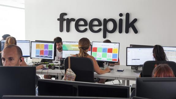La tecnológica Freepik amplía su plantilla y prevé alcanzar los 260 empleados a principios de 2017