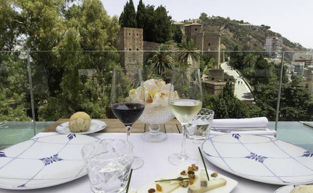 Málaga Terrazas Gastronomía En Las Alturas Malaga En La