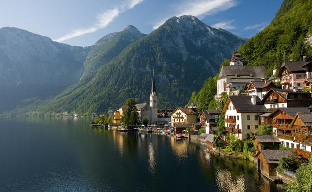 Hallstatt, en los Alpes austriacos./Creative Commons