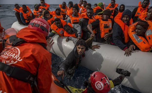Resultado de imagen de acoger emigrantes