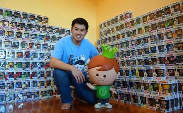 Nikko Lin, un funatic que tiene una gran colección en Filipinas.