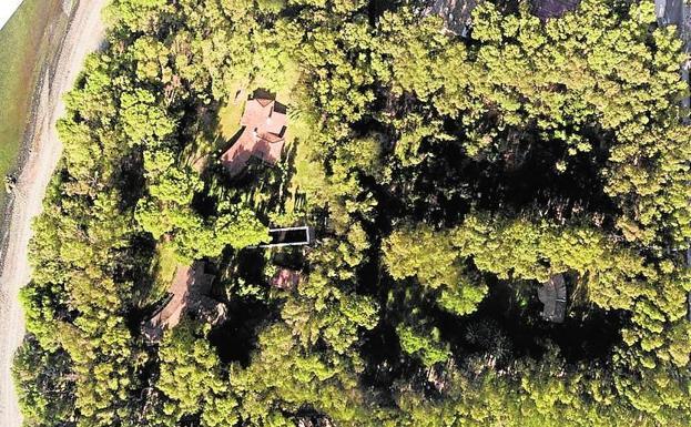 Fotografía aérea del terreno adquirido. /SUR