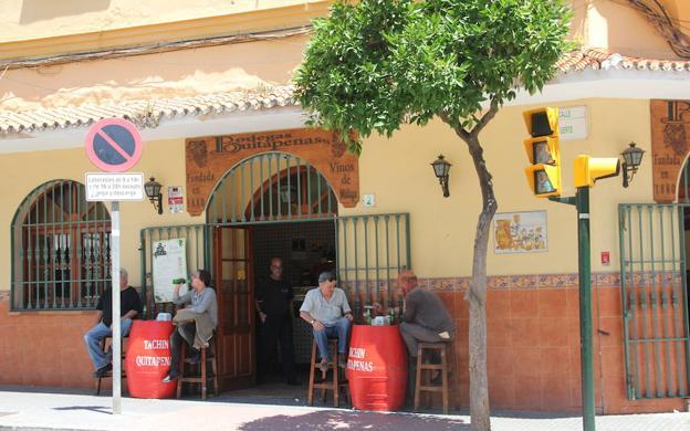 La primera casa de comidas de la bodega Quitapenas
