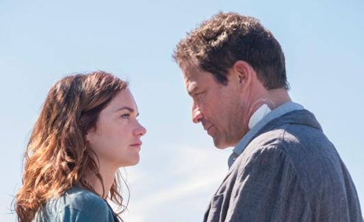 Ruth Wilson y Dominic West.