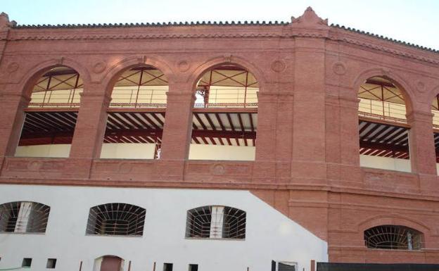 Parte de la fachada de la plaza de toros de La Malagueta. /SUR