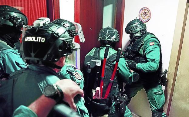 Intervienen un millón de euros en efectivo en un nuevo golpe al narco en Málaga y el Campo de Gibraltar 1