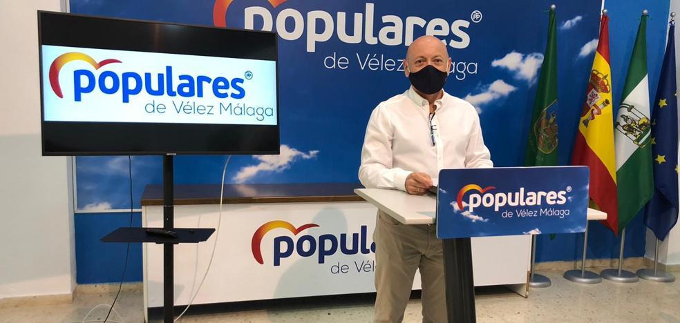 El PP solicita la creación de un comité de seguimiento de los fondos europeos EDUSI «ante la falta de información» en Vélez-Málaga 2