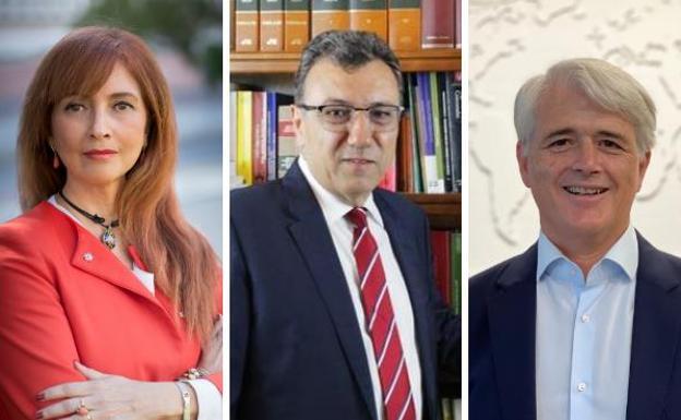 Dolores López, Salvador González y José Manuel Conejo /SUR