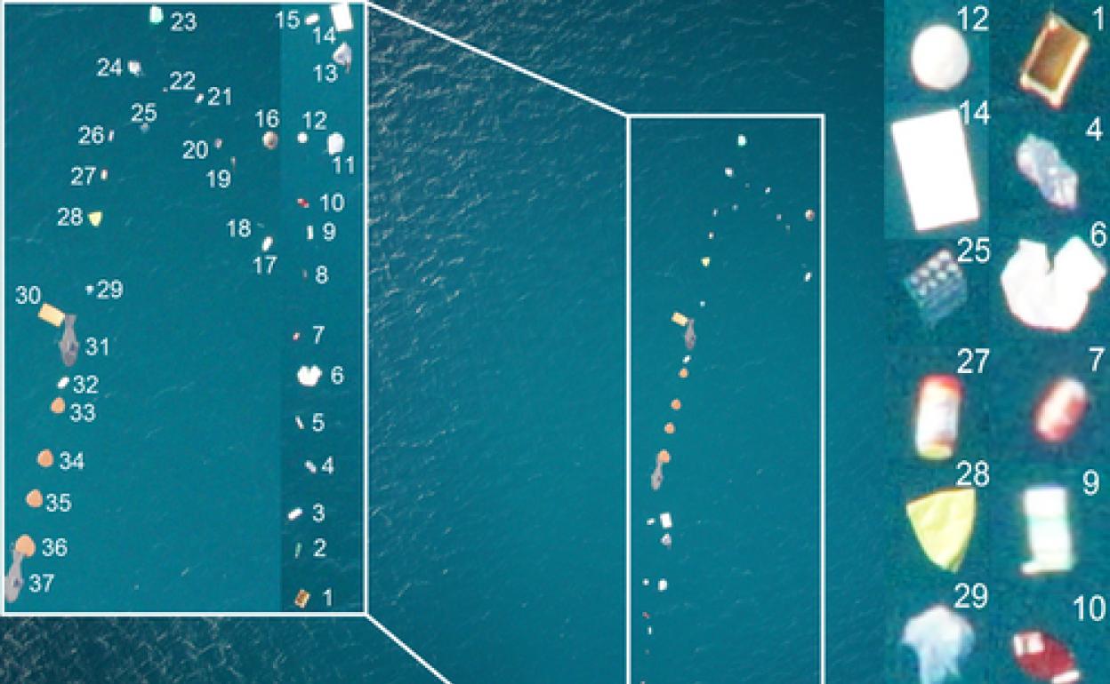 Así detectamos y contamos la basura que flota en el mar | Diario Sur