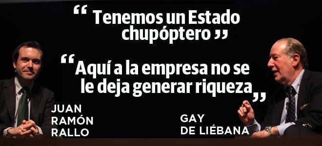 Gay De Liébana Versus Juan Ramón Rallo Diario Sur