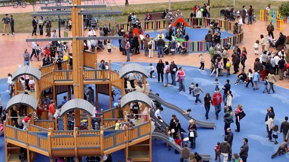 330dcfb94 Los diez mejores parques infantiles para llevar a tus hijos en Málaga